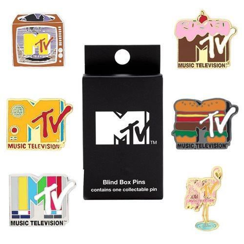 MTV Logos Blind Box Enamel Pins
