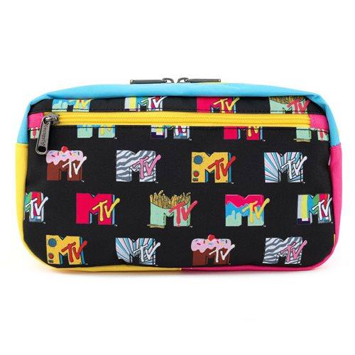 MTV Logos Nylon Fanny Pack
