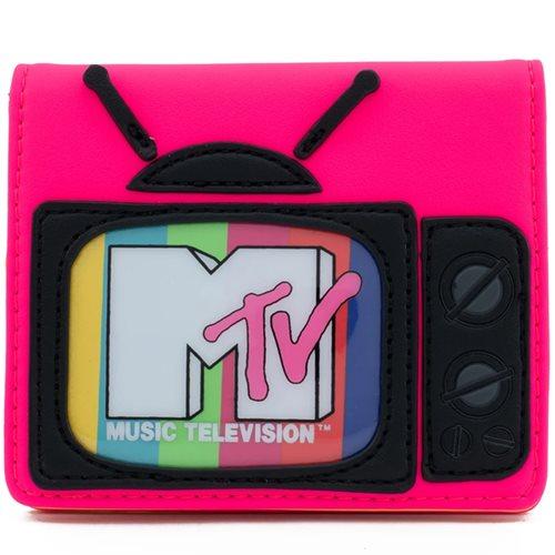MTV Neon Bi-Fold Wallet