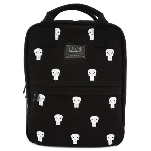Punisher Canvas Embroidered Backpack