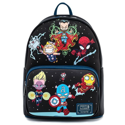 Marvel Avengers Chibi Group Mini-Backpack