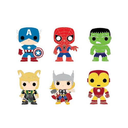 Marvel Pop! by Loungefly Classic Avengers Blind Enamel Pin