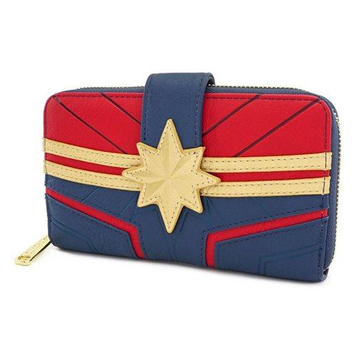 Captain Marvel Flap Wallet
