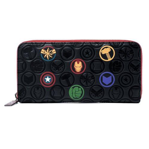 Marvel Icons Zip-Around Wallet