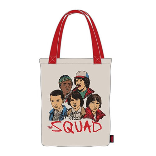 Stranger Things Squad Canvas Tote