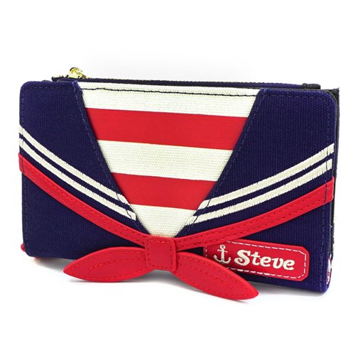 Stranger Things Scoops Ahoy Steve Uniform Flap Wallet