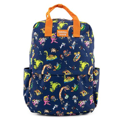 Nickelodeon Retro Characters Nylon Backpack
