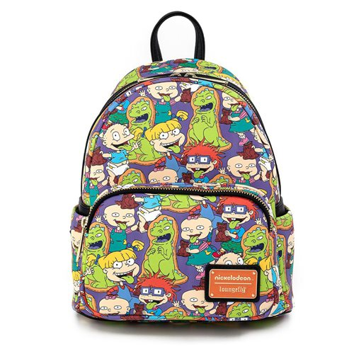 Rugrats Characters Print Mini-Backpack