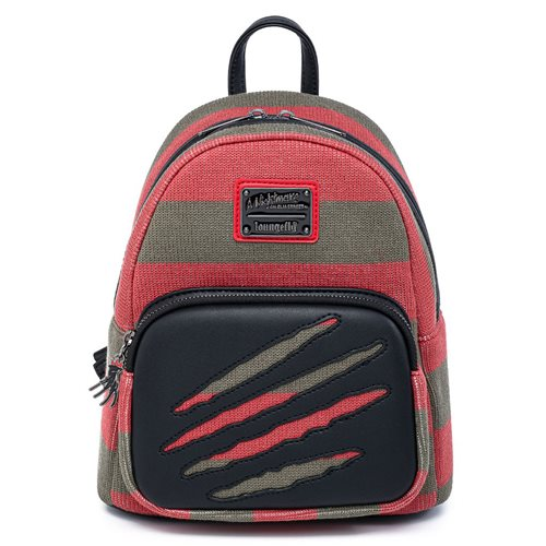 Nightmare On Elm Street Freddy Sweater Mini-Backpack