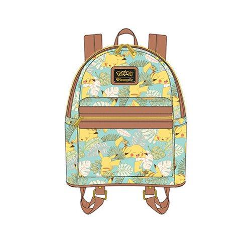 Pokemon Pikachu Leaves Mint Mini Backpack