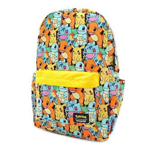 Pokemon Starters Nylon Backpack