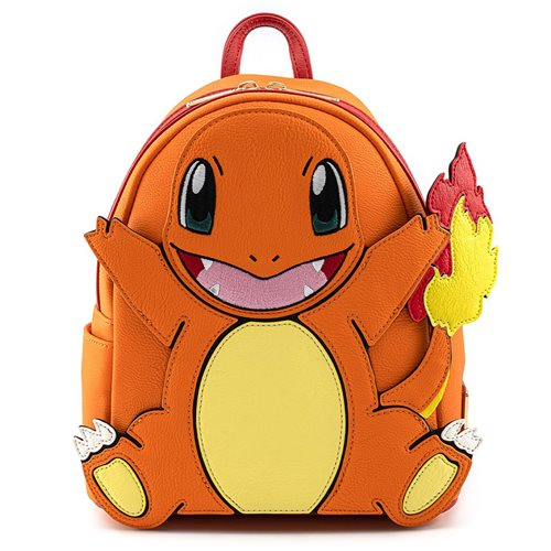 Pokemon Charmander Cosplay Mini-Backpack