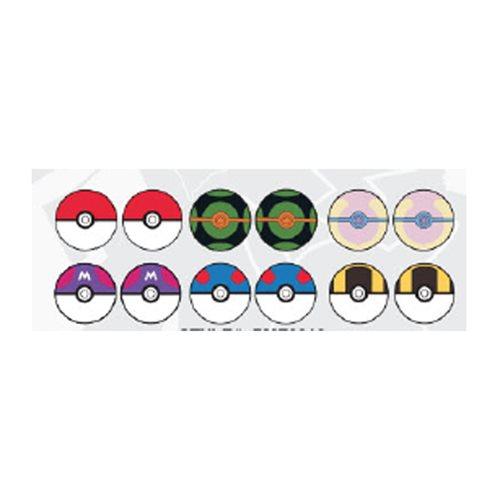 Pokemon Pokeballs Earring 6-Pack
