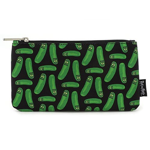 Rick and Morty Pickle Rick Print Pencil Case