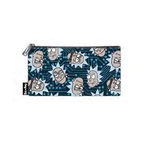 Rick and Morty Computer Chip Rick Nylon Pouch