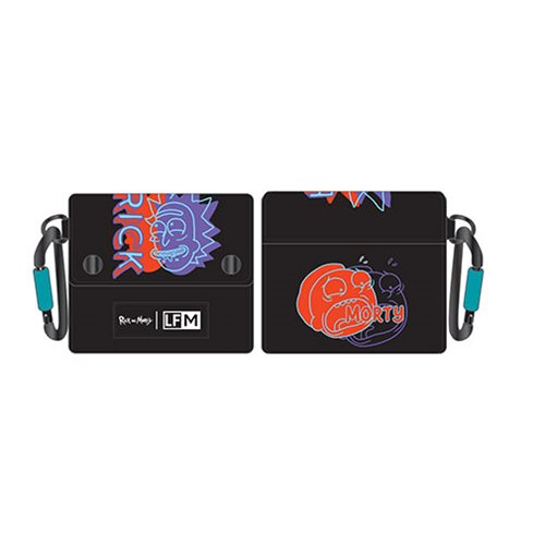 Rick and Morty Neon Flap Wallet