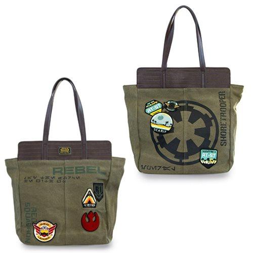 Star Wars 2 Sided Shoretrooper Rebel Tote Bag