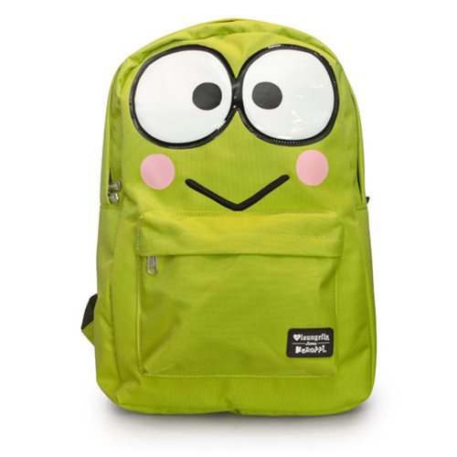 Hello Kitty Keroppi Large Face Backpack