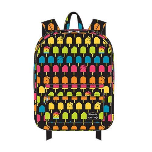 Hello Kitty Ice Cream Print Nylon Backpack