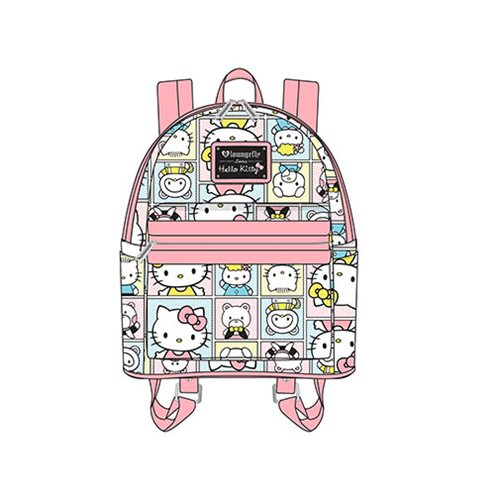 Hello Kitty Friends Print Mini Backpack