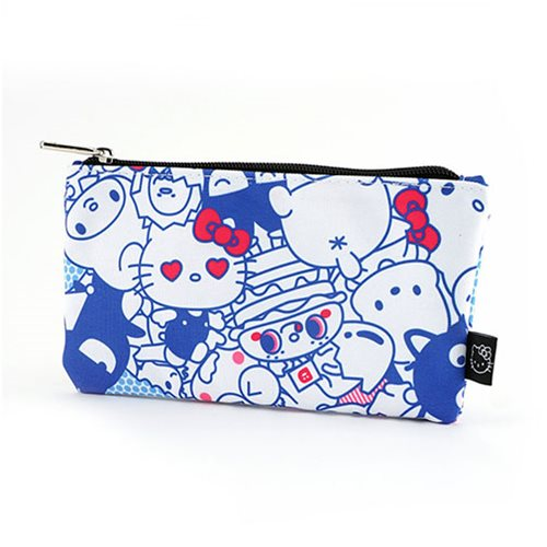 Hello Kitty Friends Bright Travel Cosmetic Bag