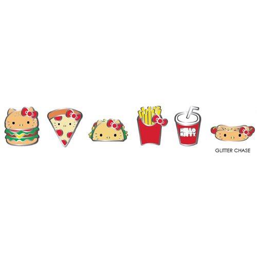 Hello Kitty Snacks Enamel Pin Blind Box