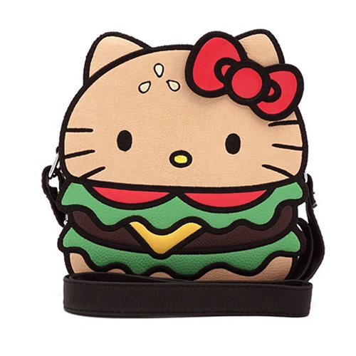 Hello Kitty Hamburger Crossbody Purse