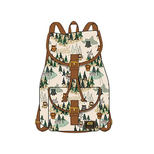 Star Wars Ewok Forest Print Backpack