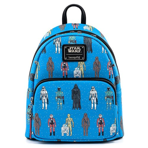 Star Wars Action Figures Print Mini-Backpack