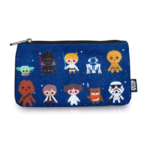 Star Wars Baby Character Print Pencil Case