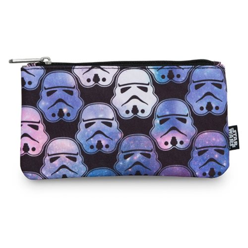 Star Wars Ombre Stormtrooper Print Travel Cosmetic Bag