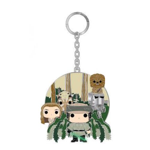 Star Wars Pop! by Loungefly Endor 2 1/2-Inch Key Chain