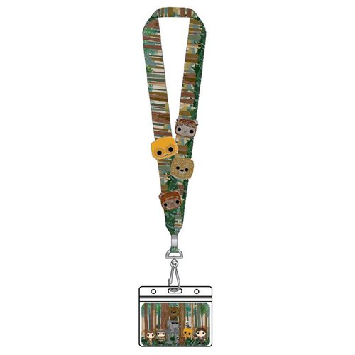 Star Wars Pop! by Loungefly Group Lanyard with 4 Enamel Pins
