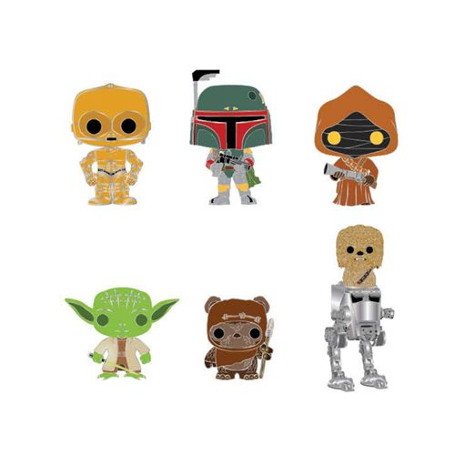 Star Wars Pop! by Loungefly Blind-Box Enamel Pin 12 pc Tray