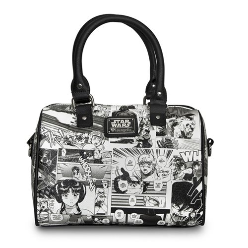 Star Wars Black And White Manga Duffle Purse
