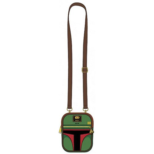 Licensed Star Wars Han Solo Hoth Inspired Kiss-lock Cross Body Satchel Hand Bag