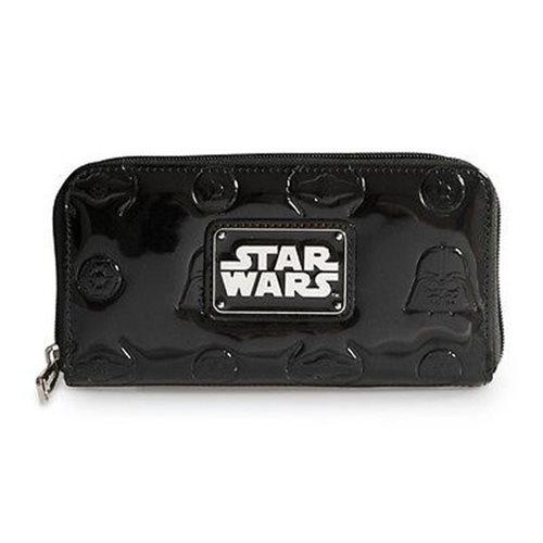 Star Wars Darth Vader Dark Side Black Patent Wallet