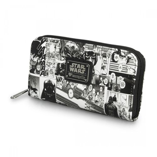 Star Wars Black And White Manga Wallet