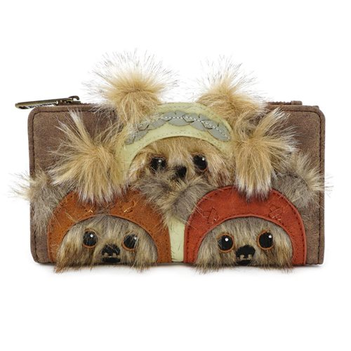 Star Wars Ewok Trio Flap Wallet