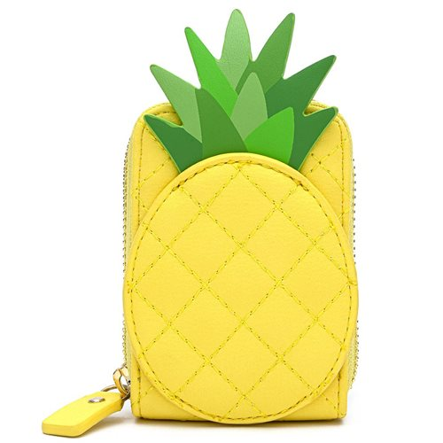 Loungefly Pool Party Pineapple Accordion Wallet