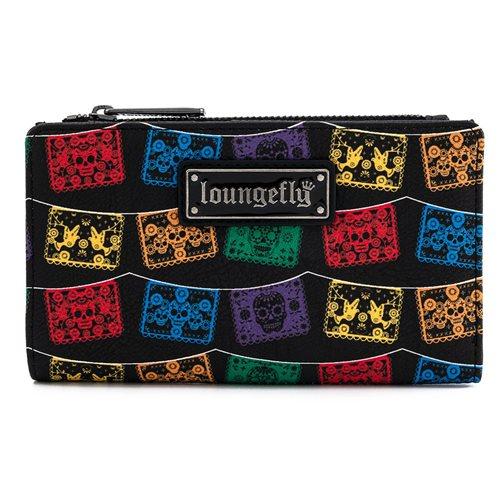 Loungefly Dia de los Muertos Flap Wallet