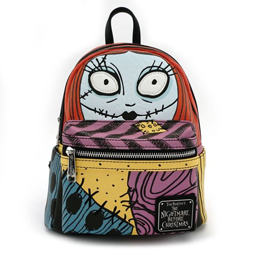 Nightmare Before Christmas Sally Cosplay Face Mini-Backpack
