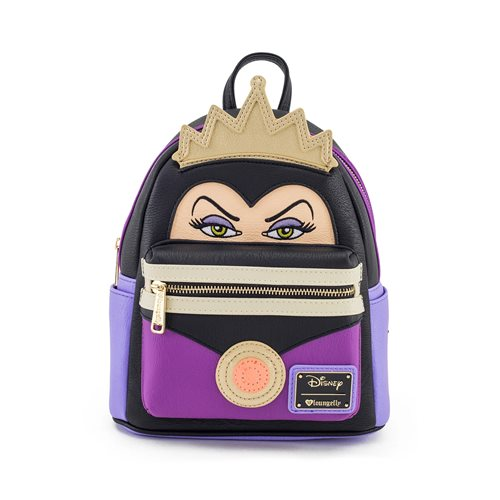 Snow White Evil Queen Face Mini Pu Backpack