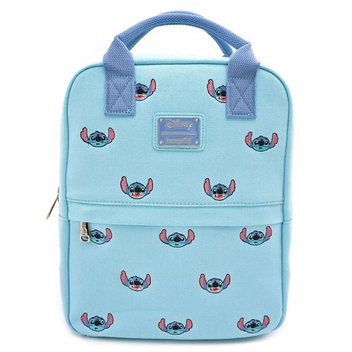 Lilo & Stitch Stitch Canvas Embroidered Backpack