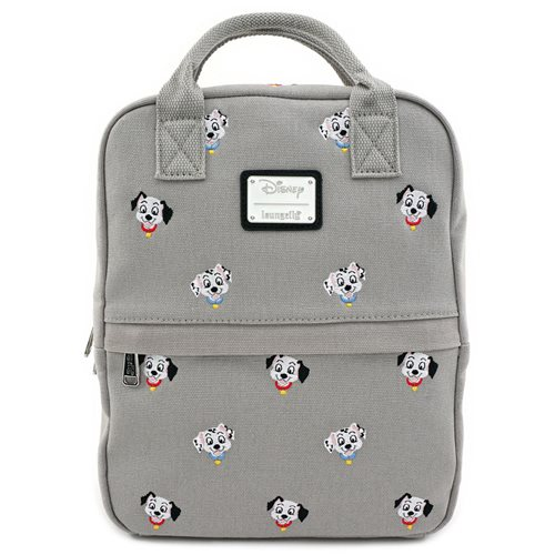 101 Dalmatians Canvas Embroidered Backpack