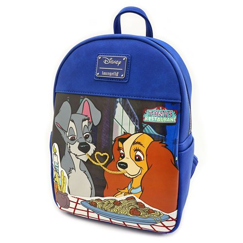 Lady and the Tramp Tony's Restaurant Mini-Backpack