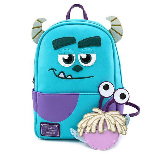 Disney-Pixar Monsters, Inc. Sully Mini-Backpack Boo Pouch