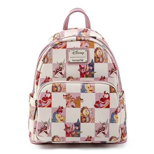 Disney Best Friends Characters Rose Checker Mini-Backpack