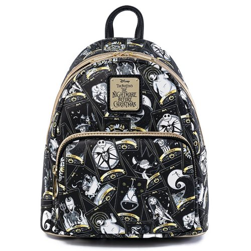 Nightmare Before Christmas Tarot Card Mini-Backpack