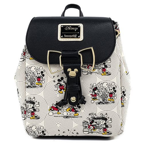 Disney Mickey and Minnie Mouse Poses Minnie Bow Backpack